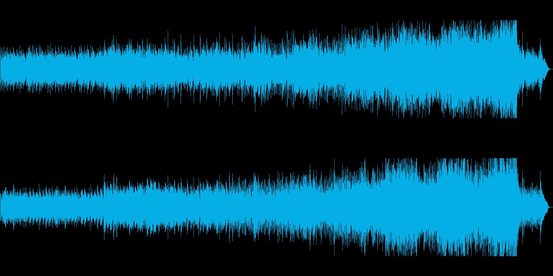 切ない旋律が刺さる感動的なピアノ曲の再生済みの波形