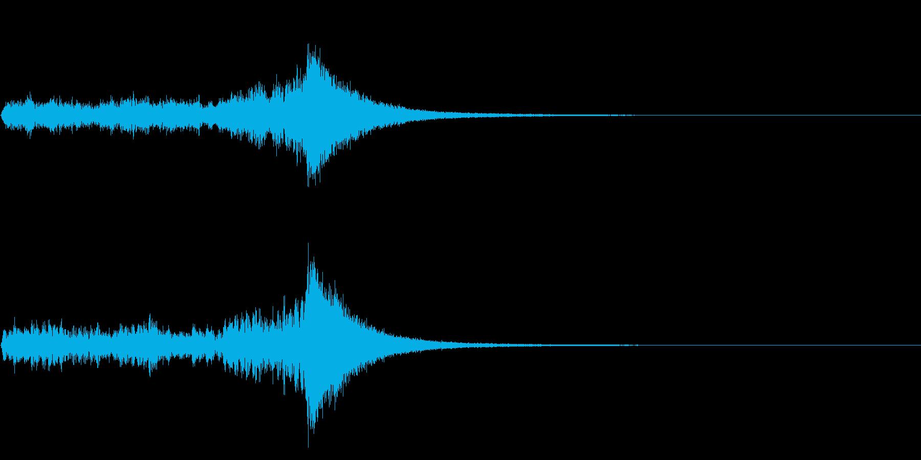 短めのドラムロール(抽選、コンテスト)の再生済みの波形