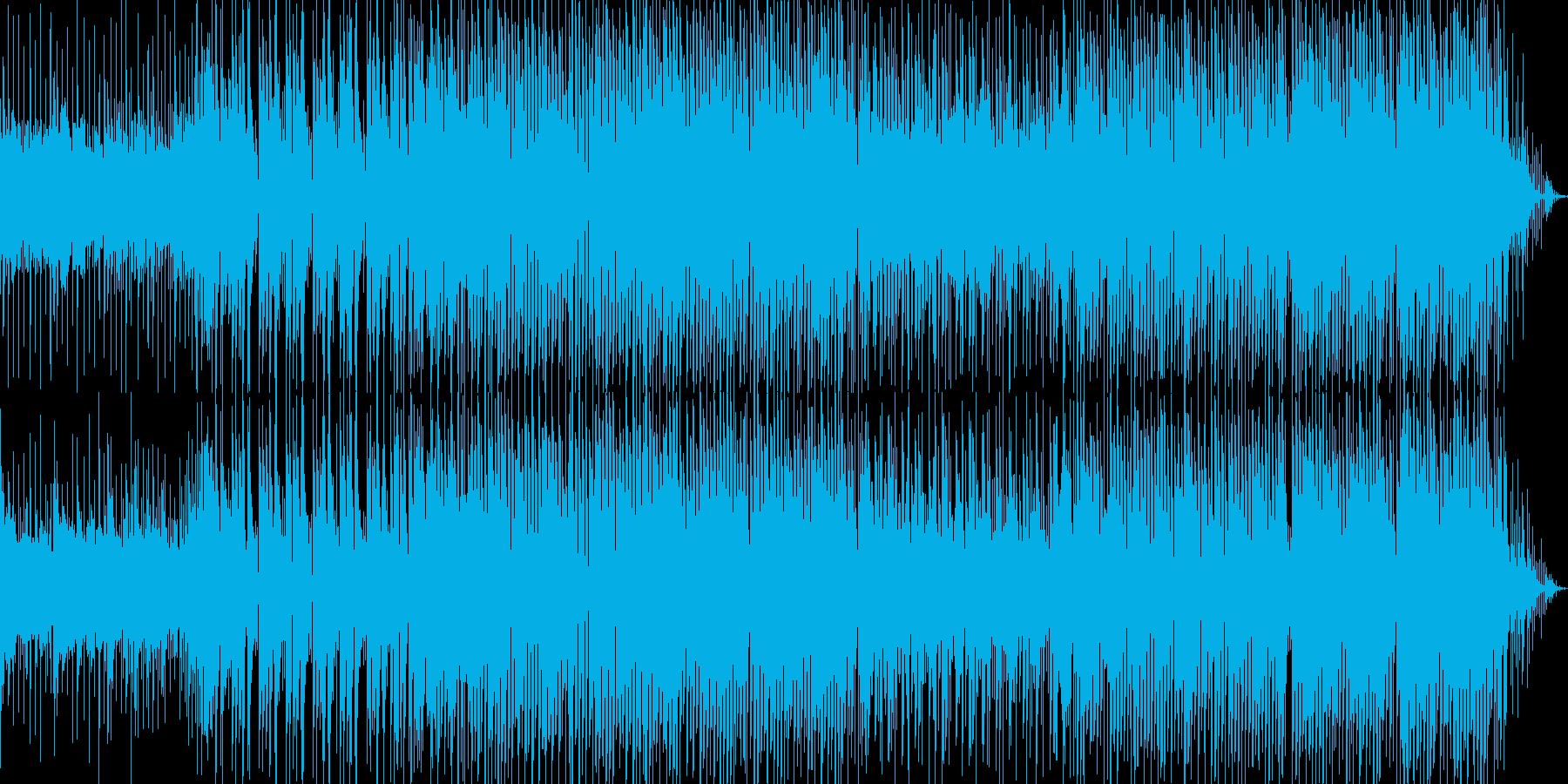 爽やかでほのぼのする感じのEDMの再生済みの波形