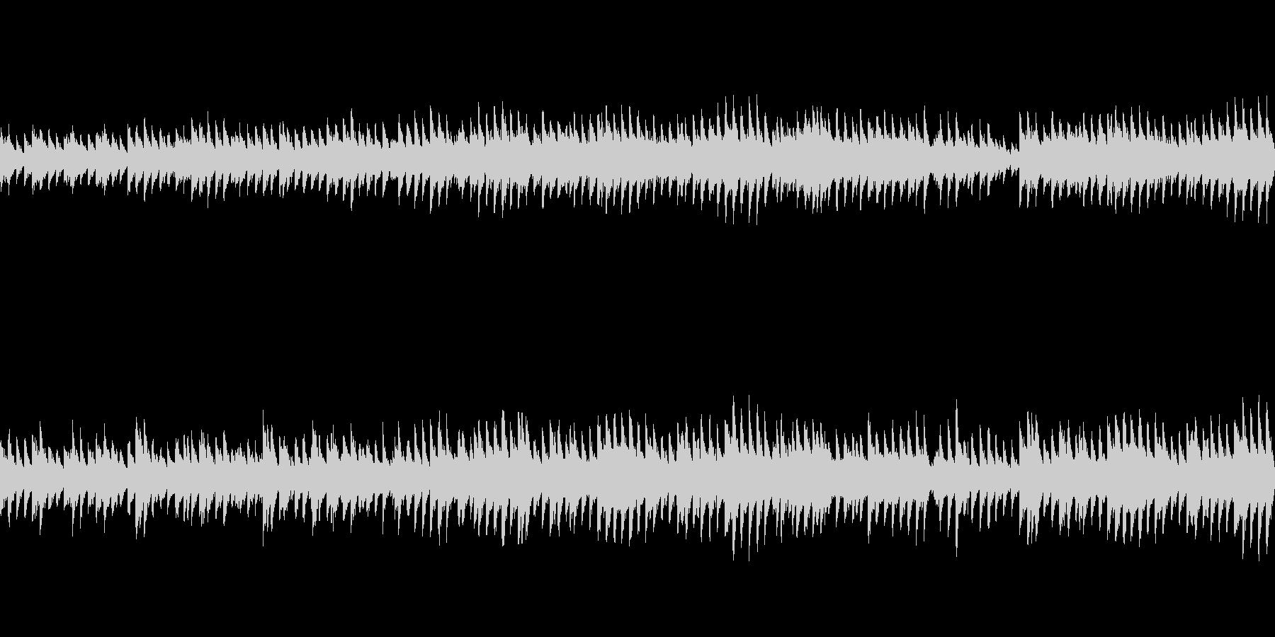 穏やかなピアノ曲2/ループ仕様の未再生の波形