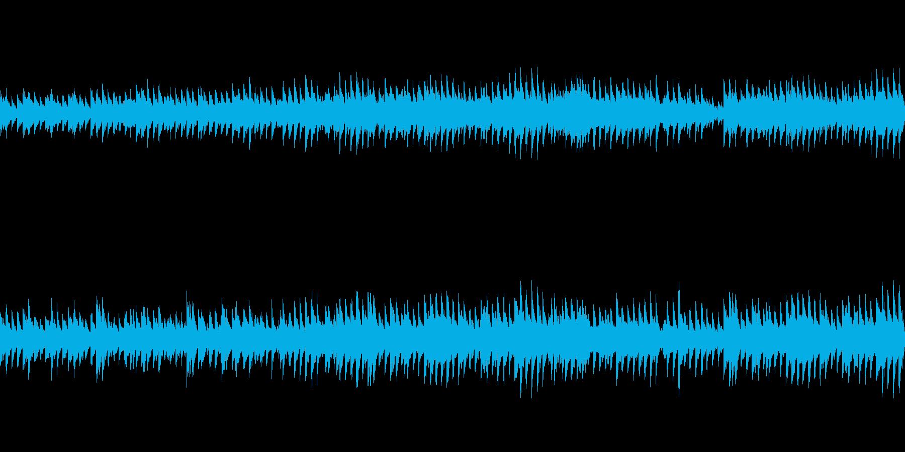 穏やかなピアノ曲2/ループ仕様の再生済みの波形