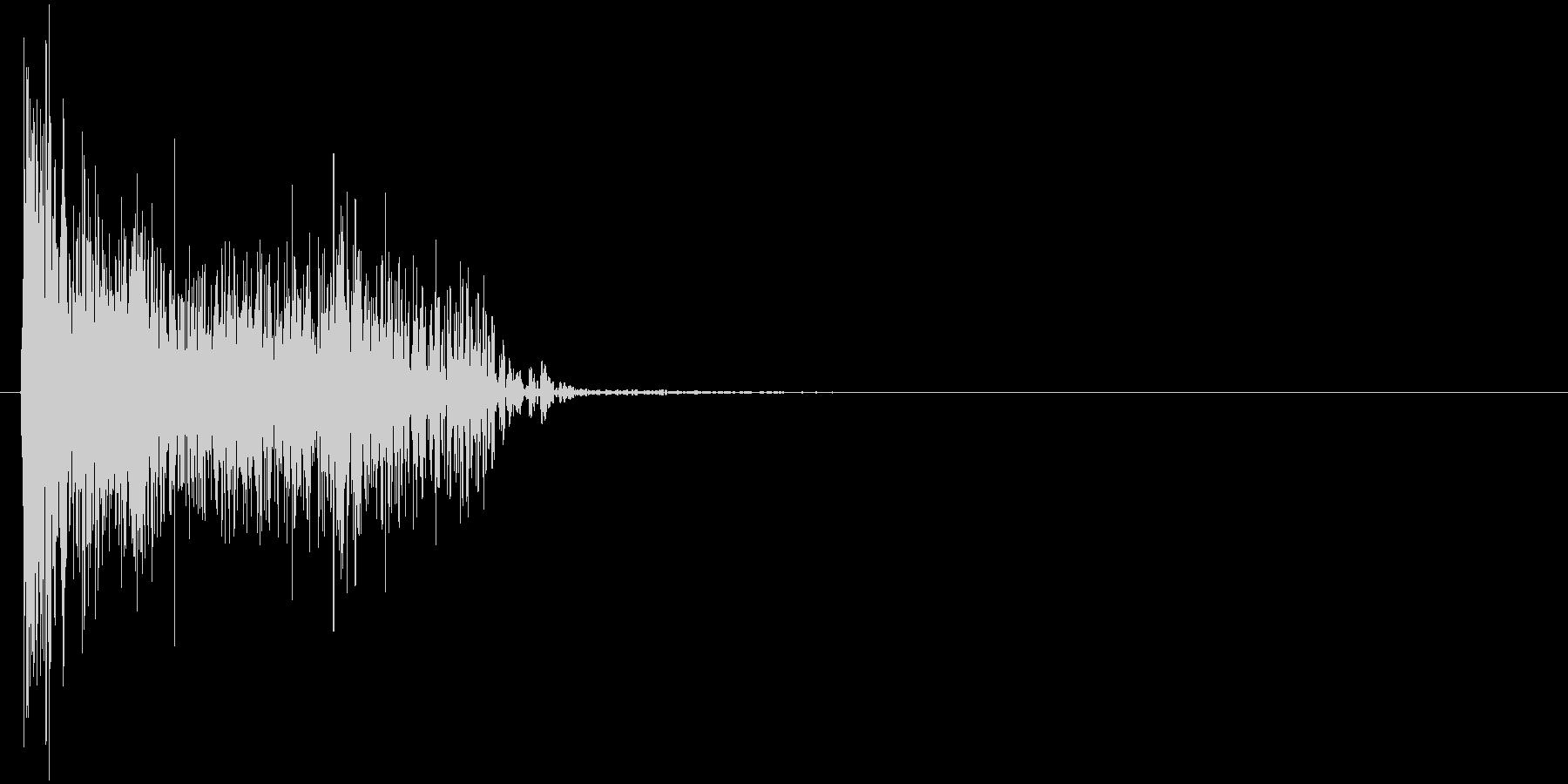 デューン↓(ロスト、撃墜、倒す)の未再生の波形