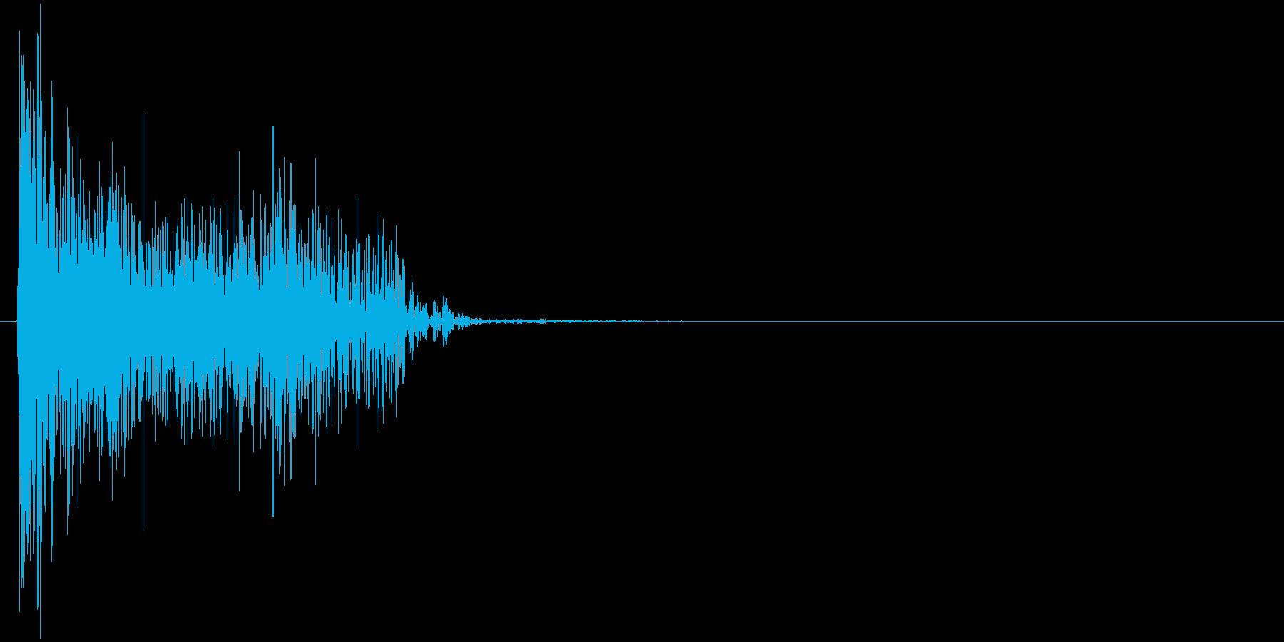 デューン↓(ロスト、撃墜、倒す)の再生済みの波形