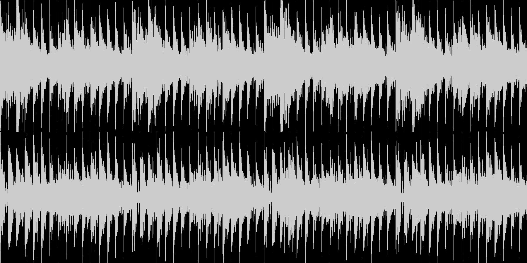 疾走感浮遊感のある宇宙的なEDM系ループの未再生の波形