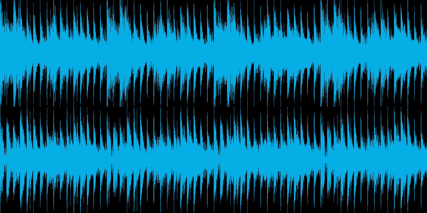 疾走感浮遊感のある宇宙的なEDM系ループの再生済みの波形