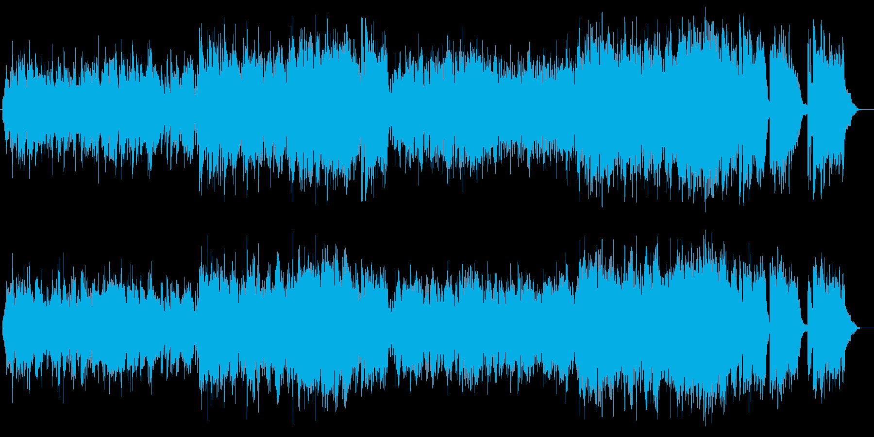 どこか懐かしくなるイージーリスニングの再生済みの波形