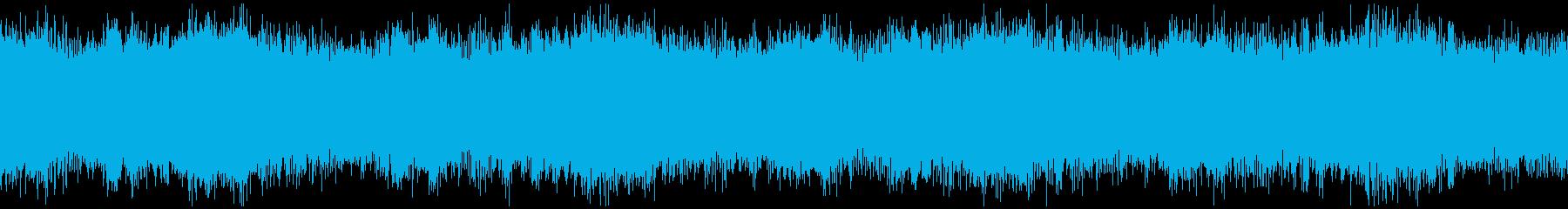 近未来型サイレンのループ、スチームパンクの再生済みの波形