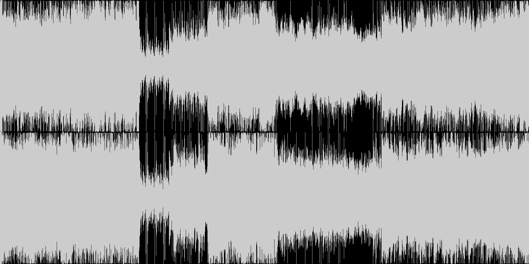 壮大なボスバトル、オーケストラ/ループ可の未再生の波形