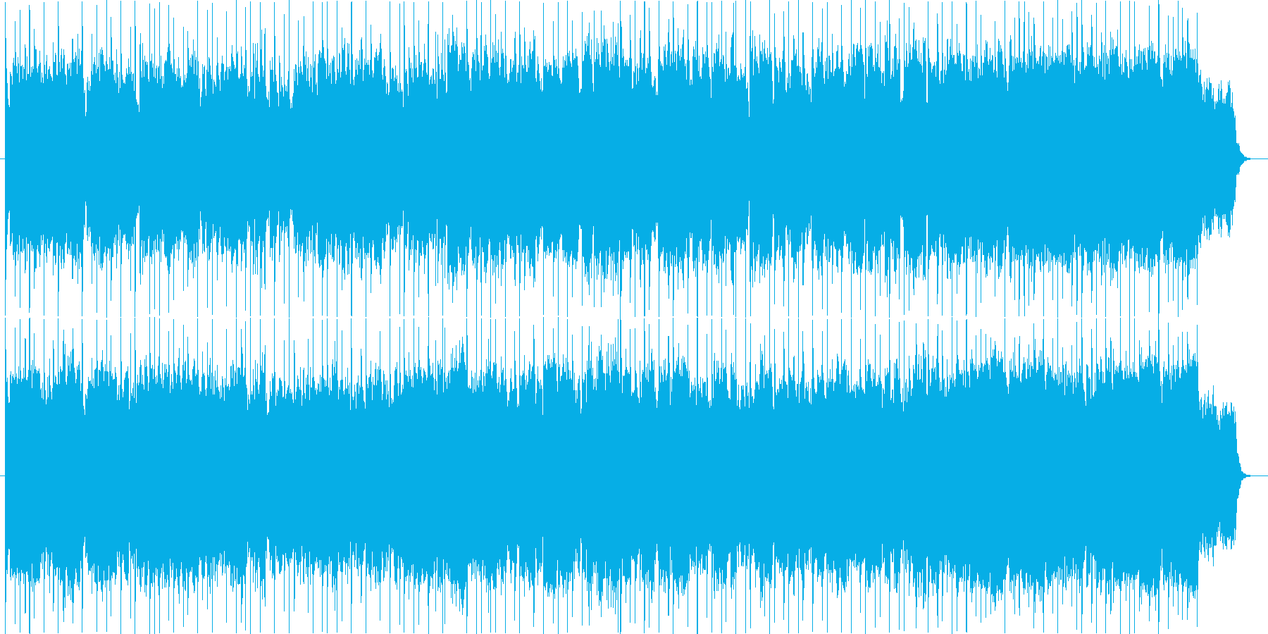 バラード 壮大の再生済みの波形