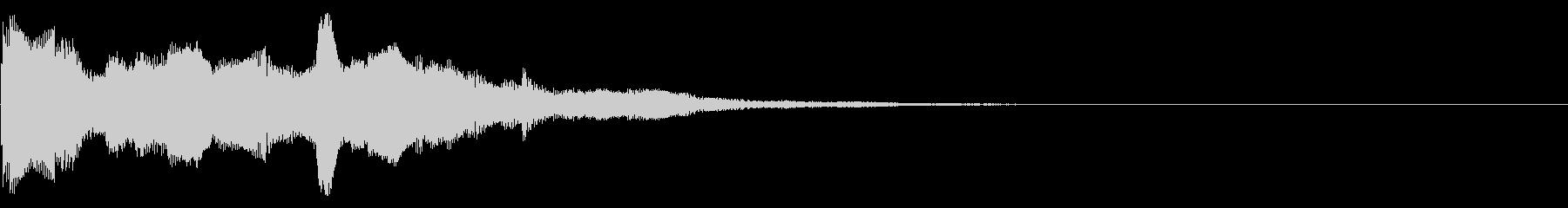スタート音05の未再生の波形