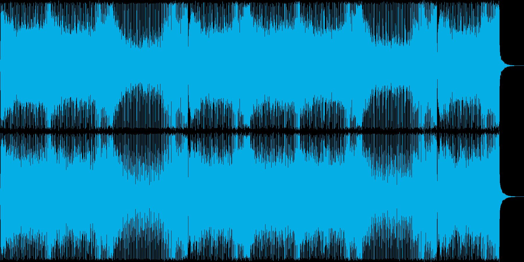 シューティングっぽいピアノが綺麗なEDMの再生済みの波形
