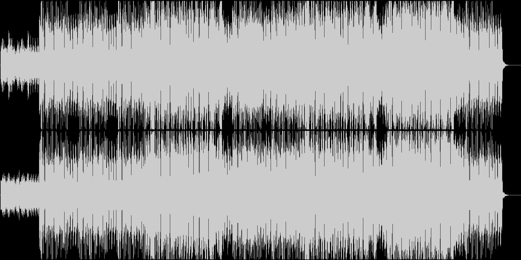 ネオソウルやR&B系の曲の未再生の波形