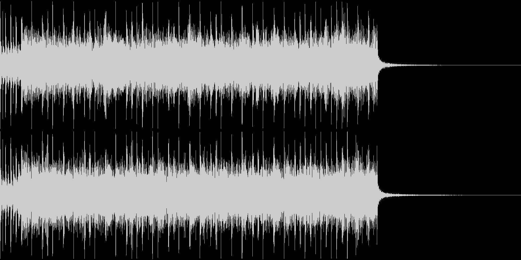 スピーディでシンプルなメタルリフジングルの未再生の波形