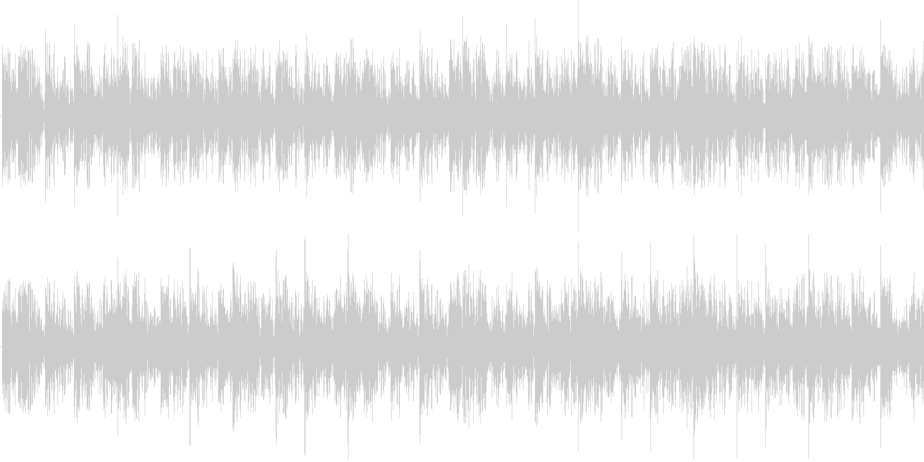 スピーディーなBGMです。の未再生の波形