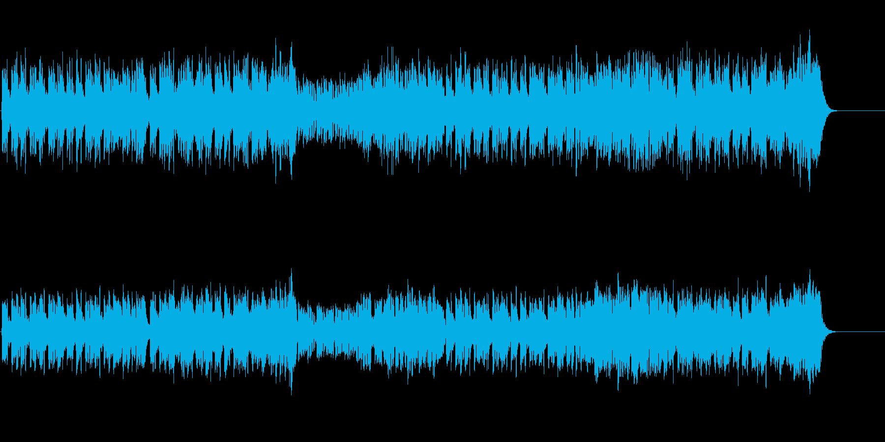 軽やかなセミ・クラシック風の再生済みの波形
