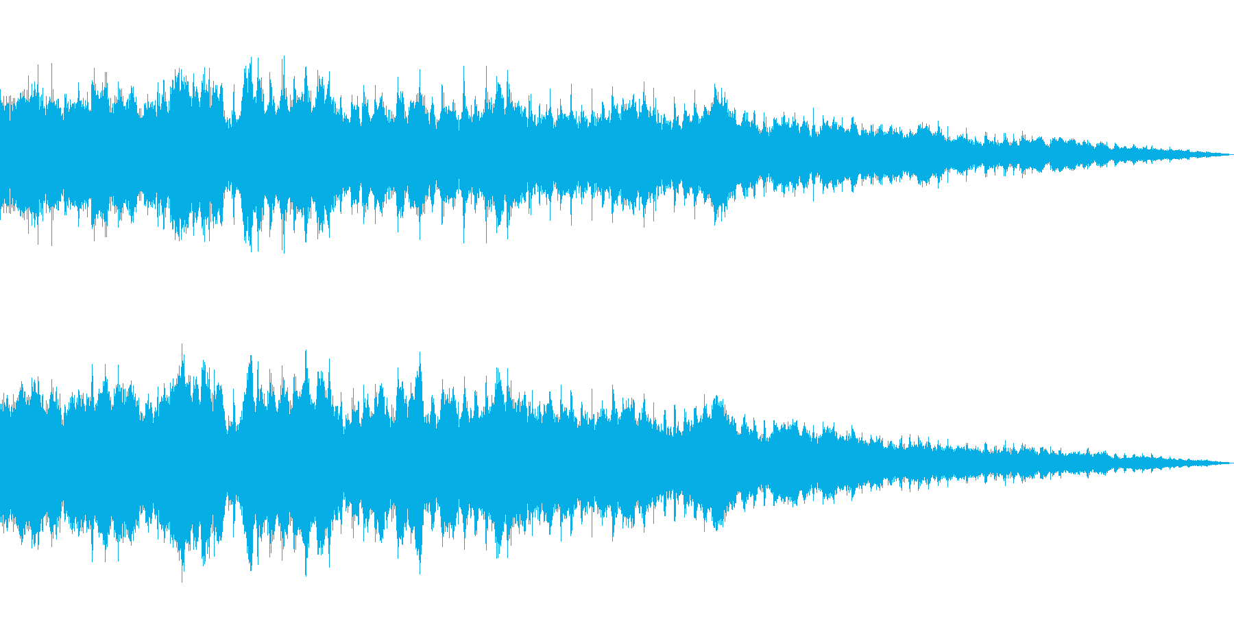ヘリコプター/プロペラ/エンジン音!01の再生済みの波形