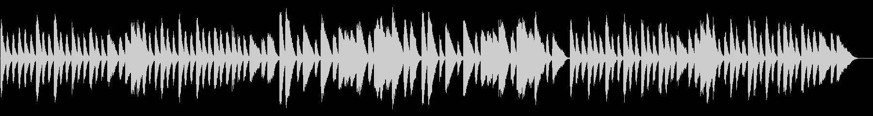 チョップスティックス/トトトのうたの原曲の未再生の波形