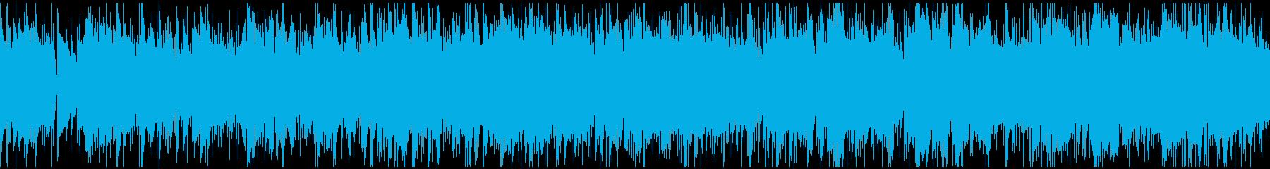暖かく未来感あるボサノバ ※ループ仕様版の再生済みの波形