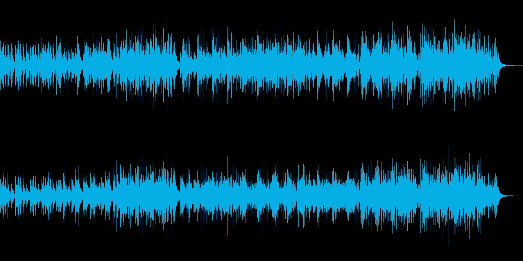 【ピアノバラード】感動系映像制作企業向けの再生済みの波形