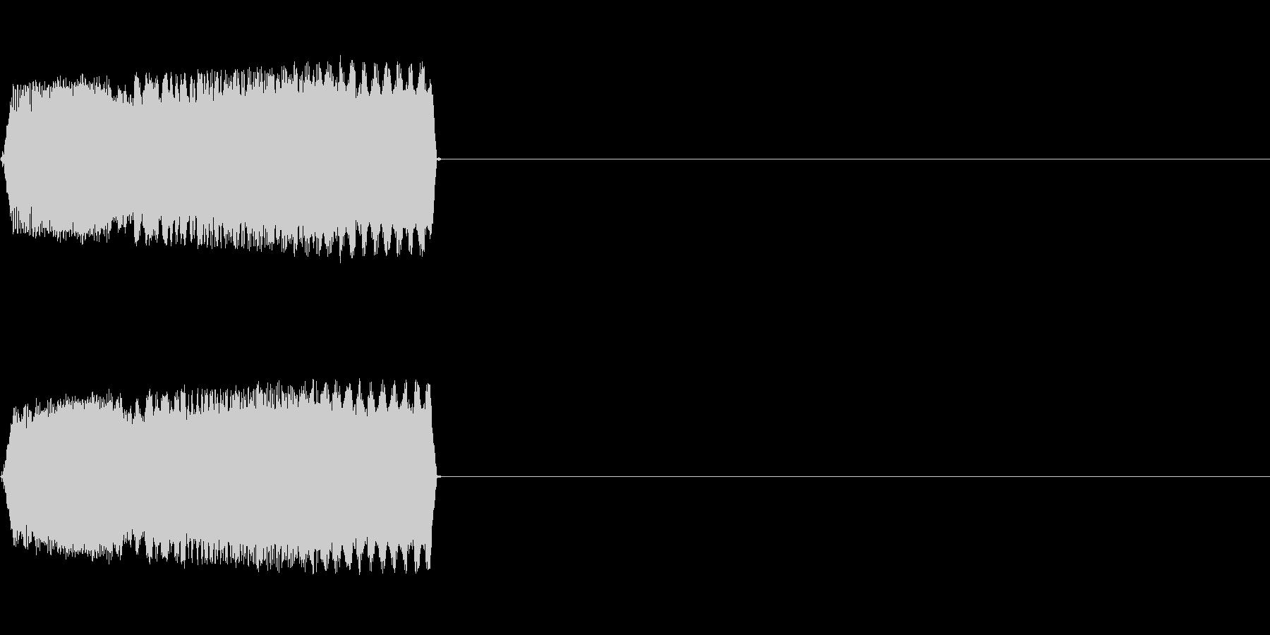 攻撃音09(ビーム)の未再生の波形