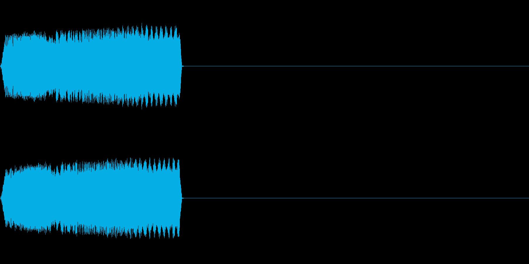 攻撃音09(ビーム)の再生済みの波形
