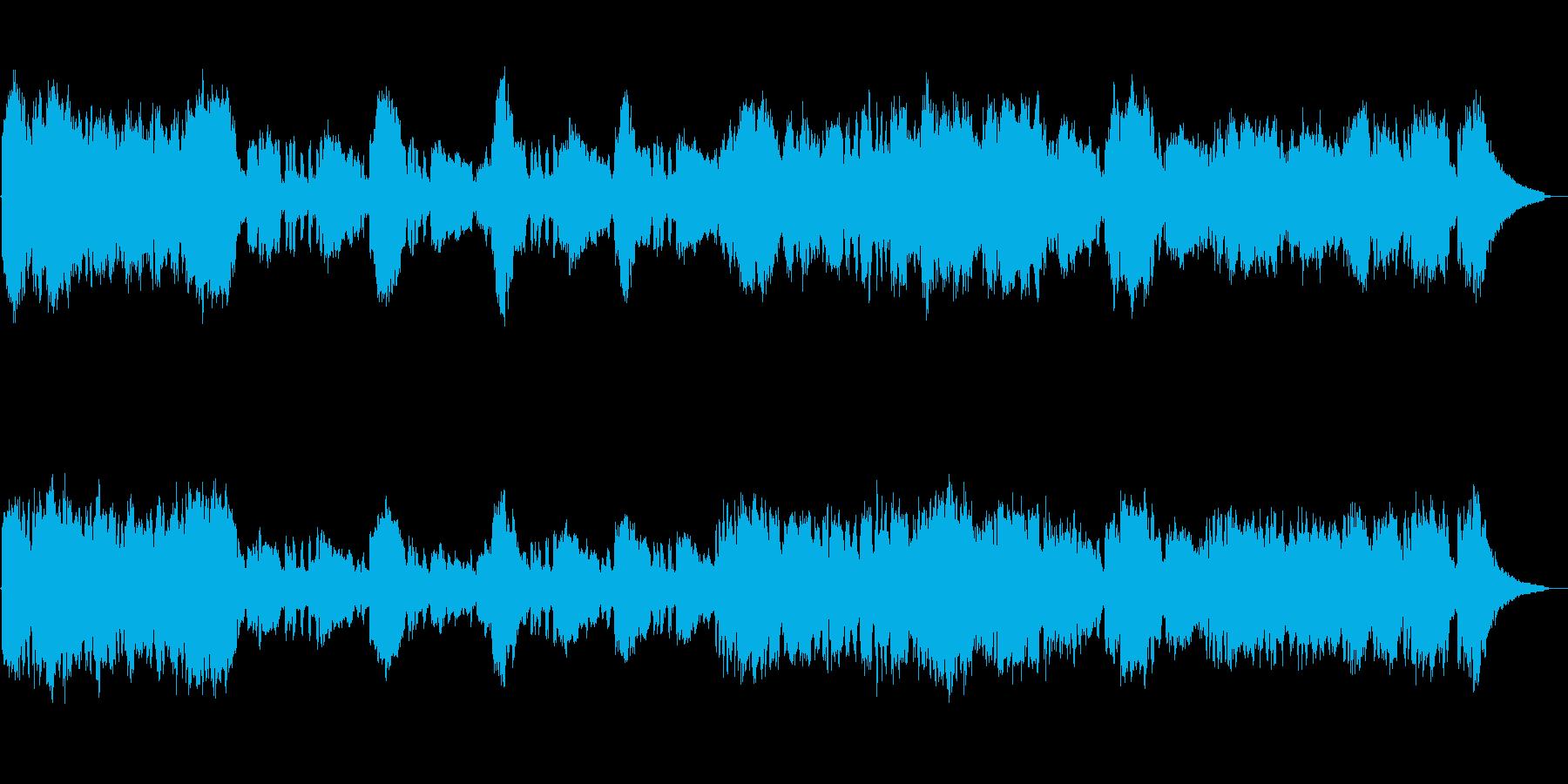 ファンタジーRPGのテーマソング・オー…の再生済みの波形