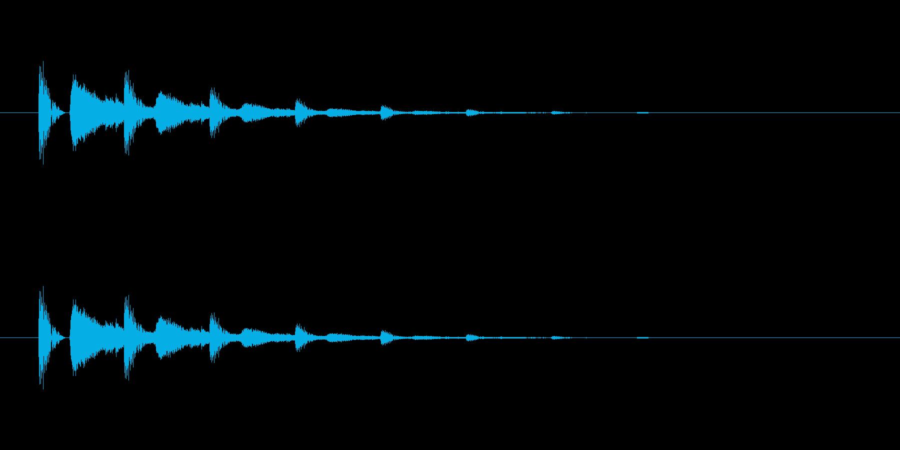 【びっくり05-3】の再生済みの波形