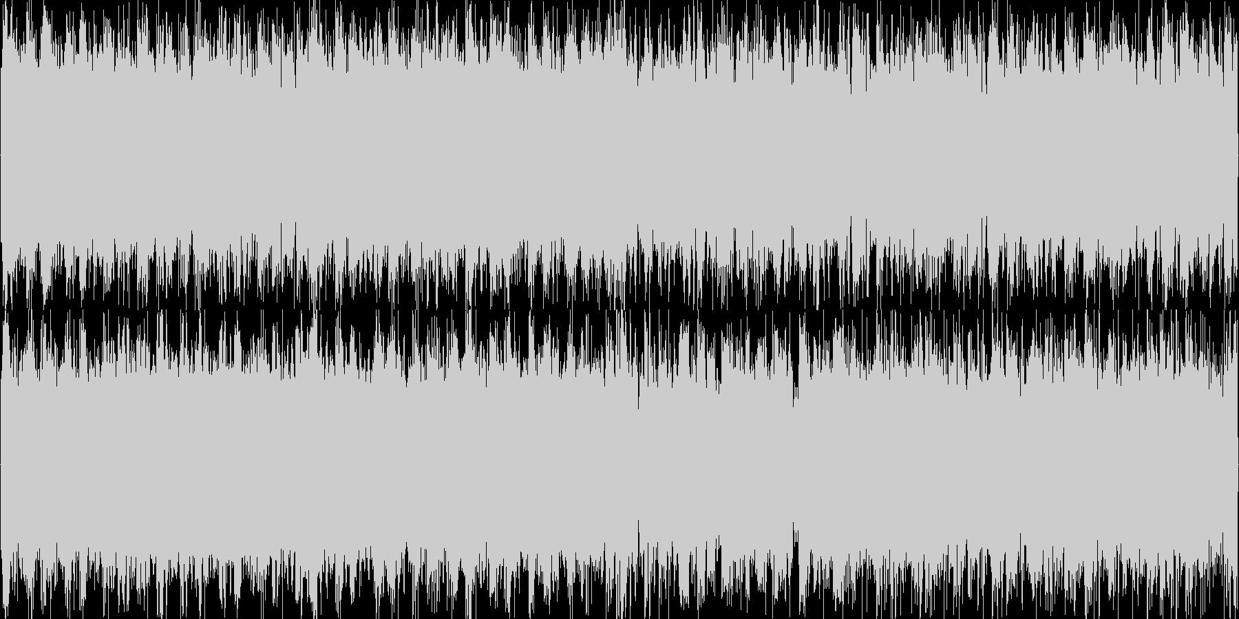 戦闘系 ギター+ドラムンベースな曲の未再生の波形