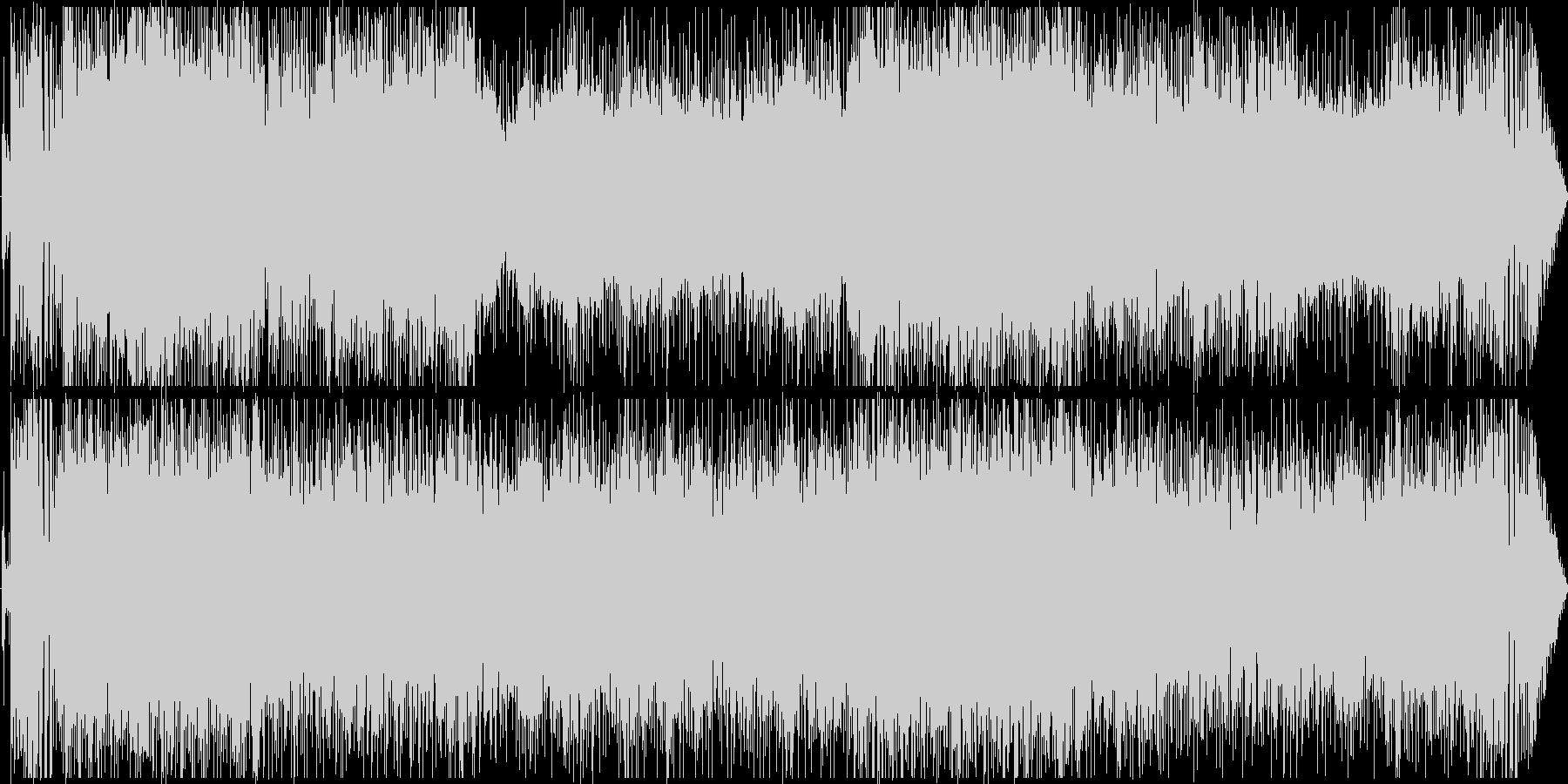 疾走感溢れるRPG:ラストバトルソングの未再生の波形