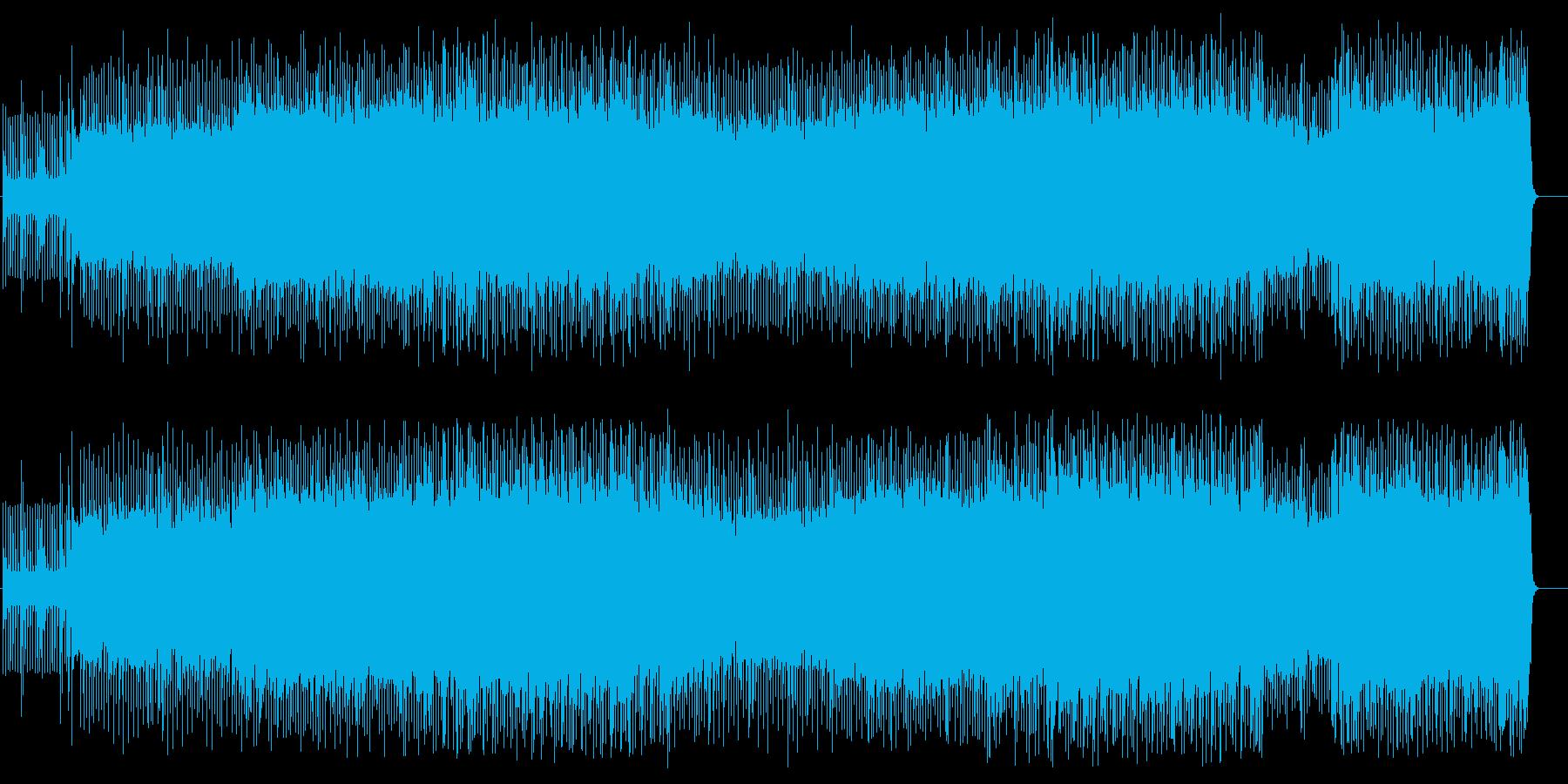 フリーダム全開アクセル・オンの再生済みの波形