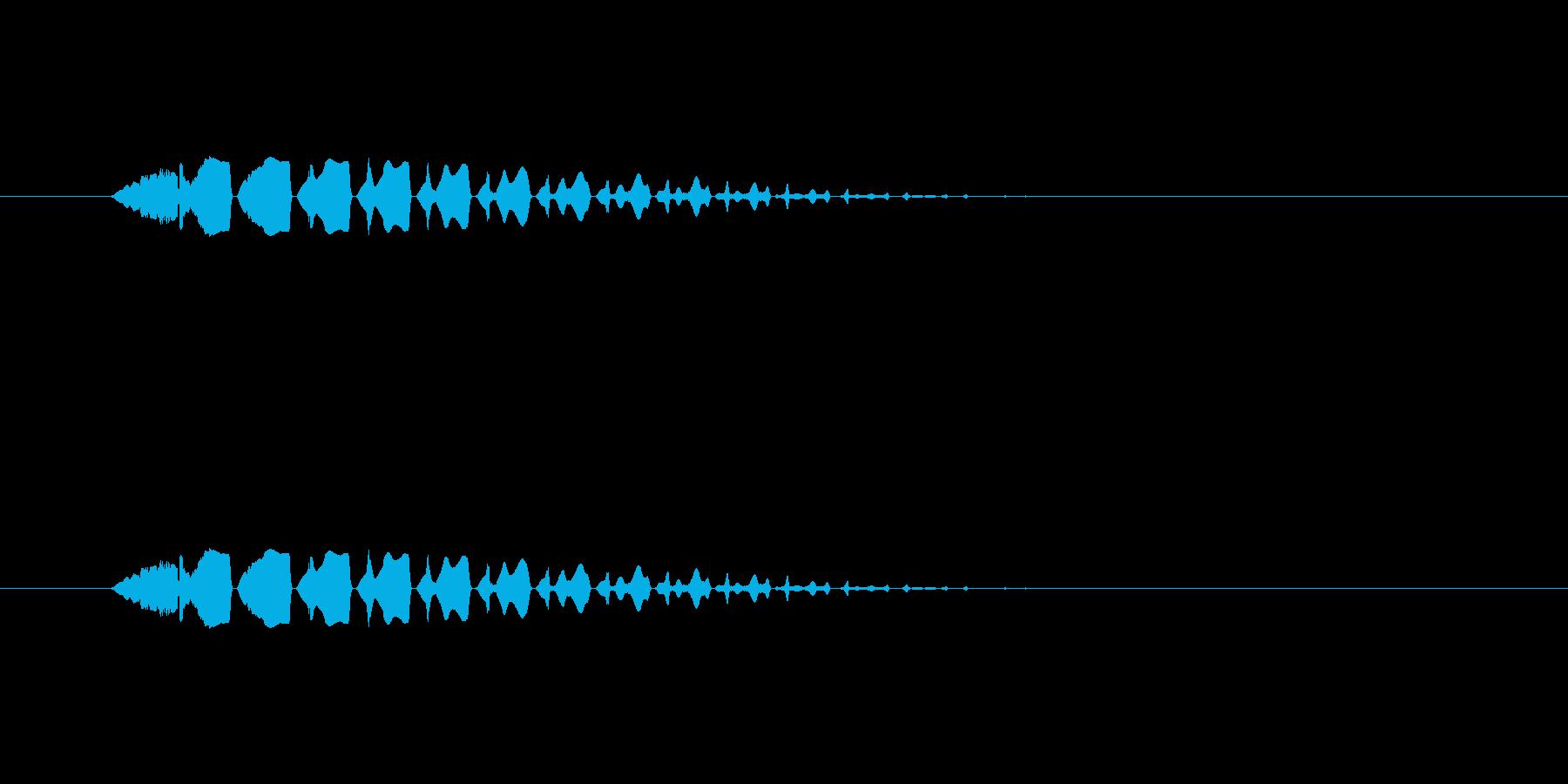 【ポップモーション37-2】の再生済みの波形