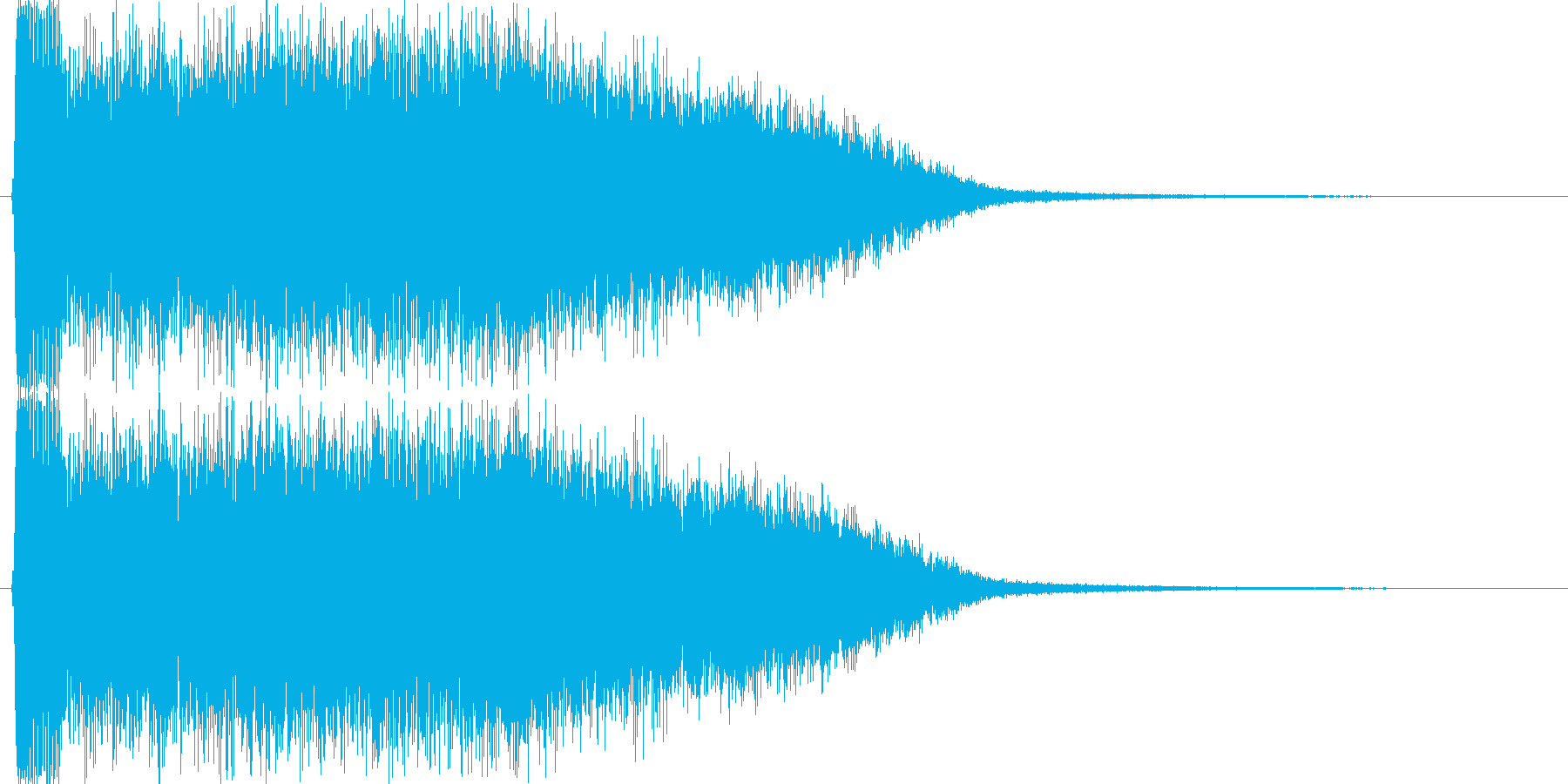 ビィーーン!(レーザー、強力、禍々しい)の再生済みの波形