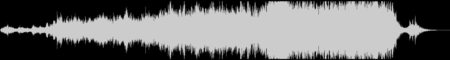 ローテンポなエピック系トレーラー音楽の未再生の波形