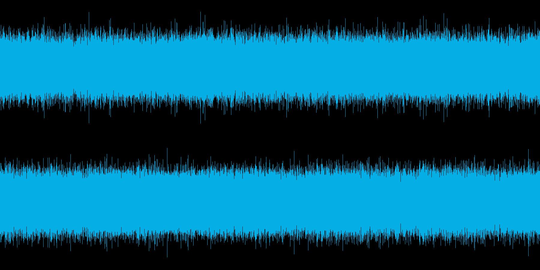 滝・水流(ループ)の再生済みの波形
