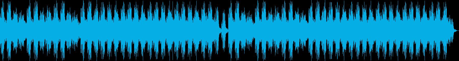 幻想的なピアノのリラクゼーション曲の再生済みの波形