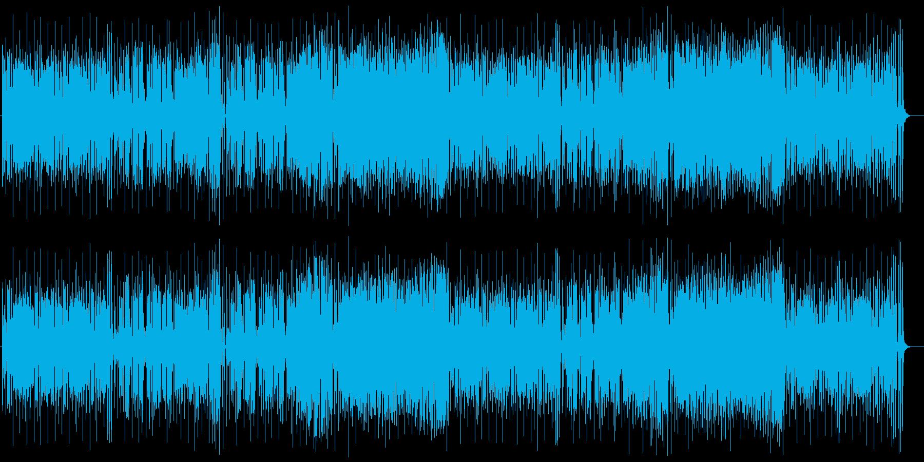 ムードな雰囲気漂うサックスジャズポップスの再生済みの波形
