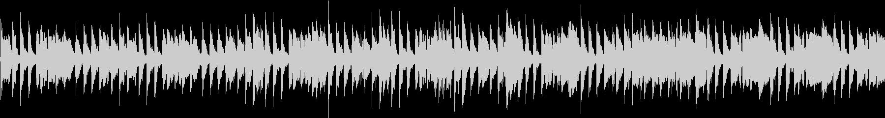 ジャズ(シンキングタイム)の未再生の波形