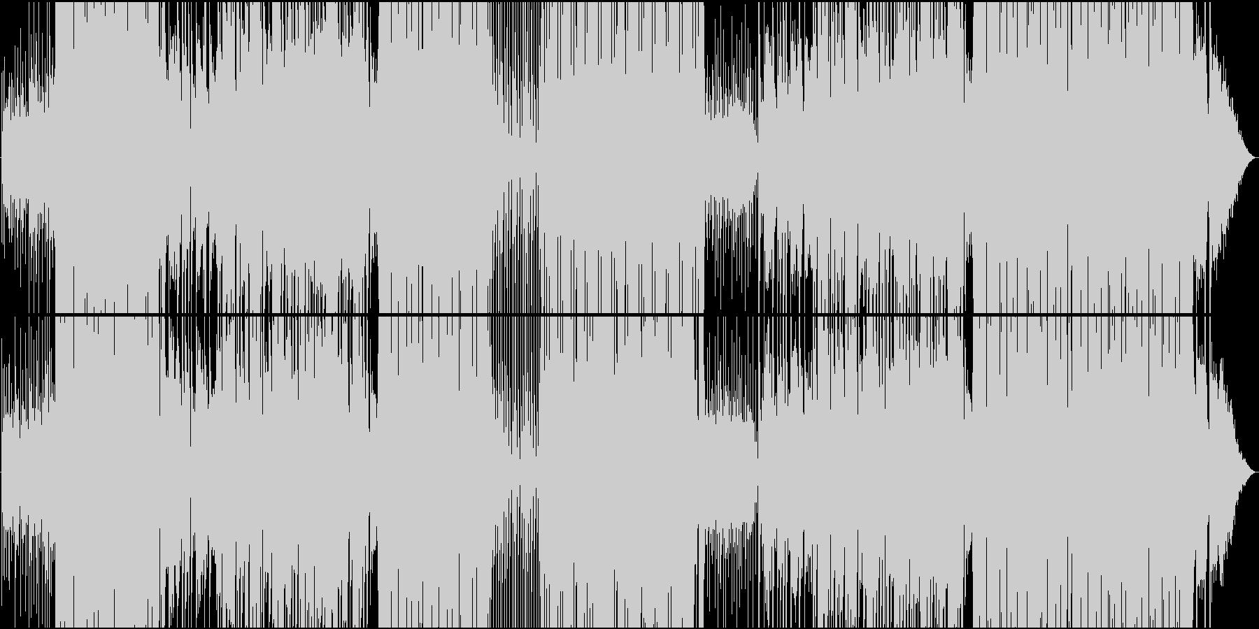 Reggaeton爽やかシーケンスEDMの未再生の波形