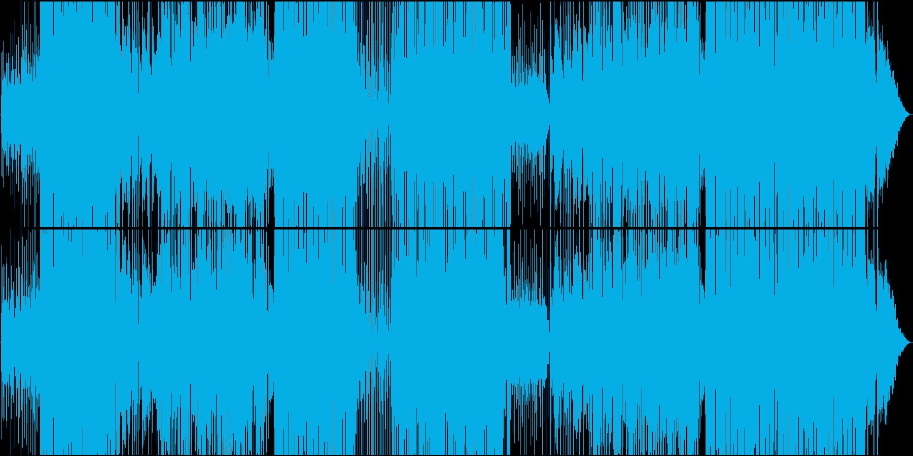Reggaeton爽やかシーケンスEDMの再生済みの波形