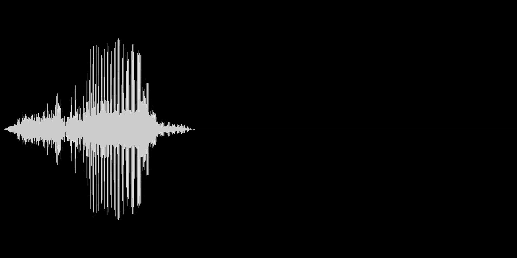 3の未再生の波形