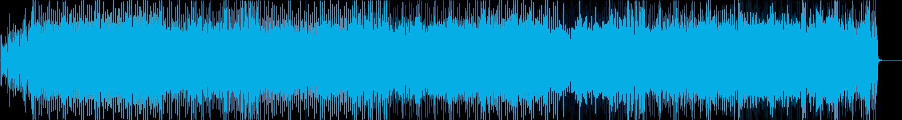 ディスコ  躍動 軽快 楽しいの再生済みの波形