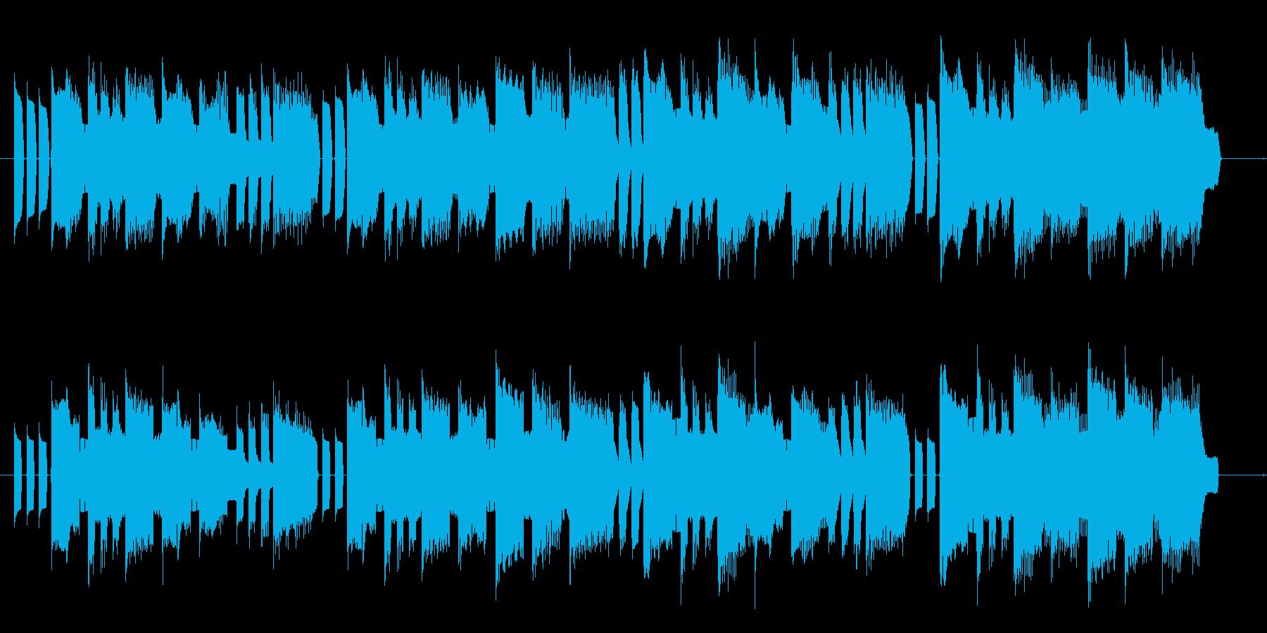 ステージクリアや勝利シーンのジングルの再生済みの波形