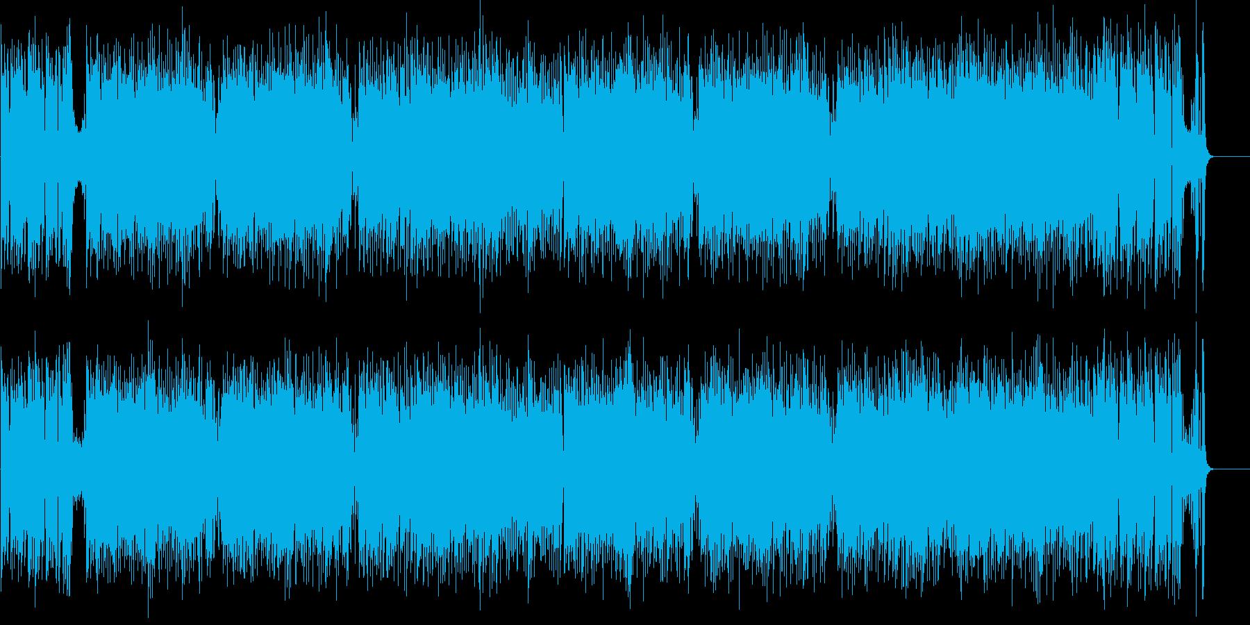 躍動 元気 軽快 いきいき はつらつの再生済みの波形