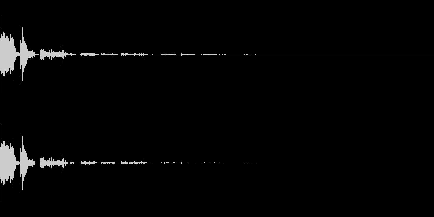 SF系ワンショット(ピシュピシュ)の未再生の波形
