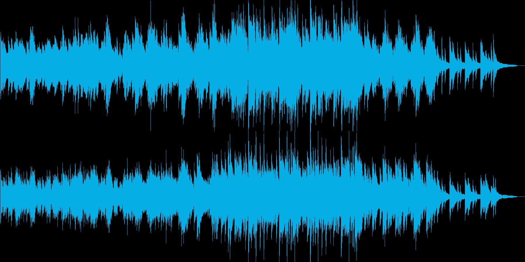 感動的・爽やか・達成感・映像・イベント用の再生済みの波形