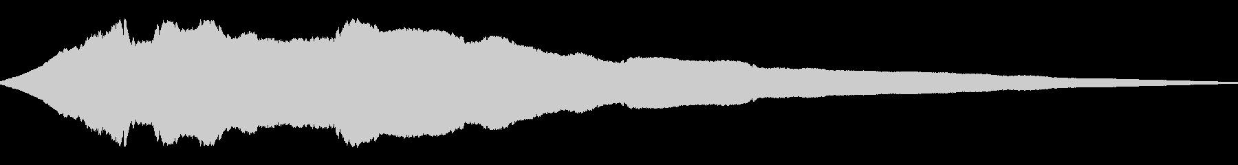 ヒューンと落下(高い所から落ちる)の未再生の波形