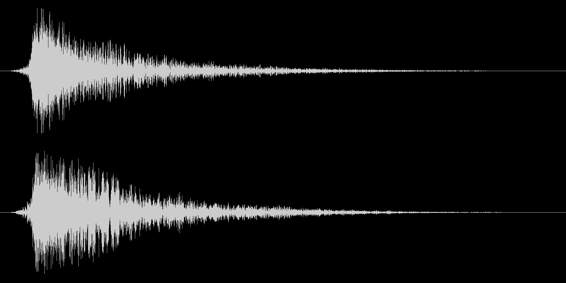 シネマティック ヒット インパクト!11の未再生の波形