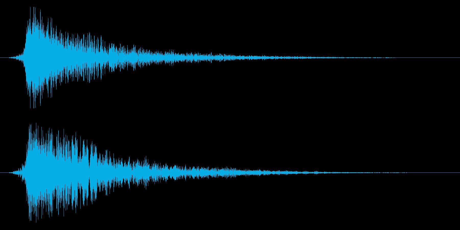 シネマティック ヒット インパクト!11の再生済みの波形