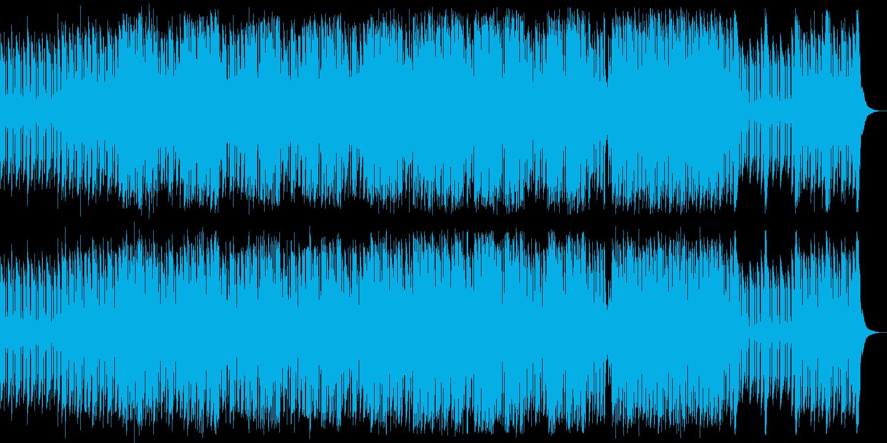 東洋な雰囲気の、力の抜けた音楽の再生済みの波形