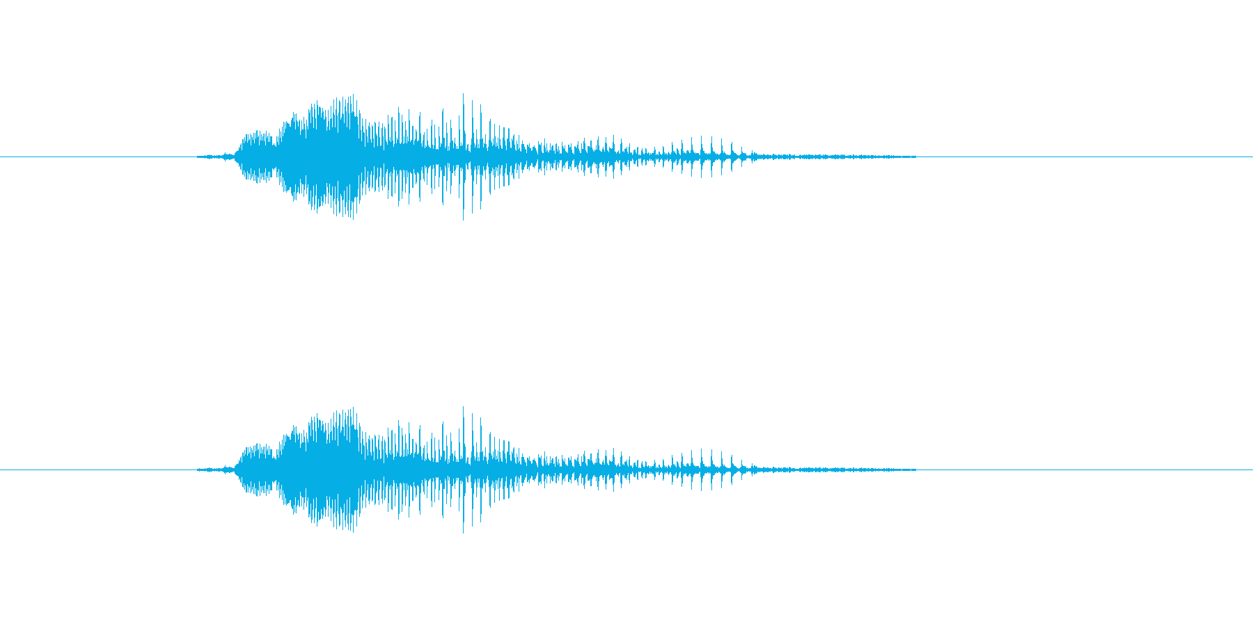いぇい!(攻撃)の再生済みの波形